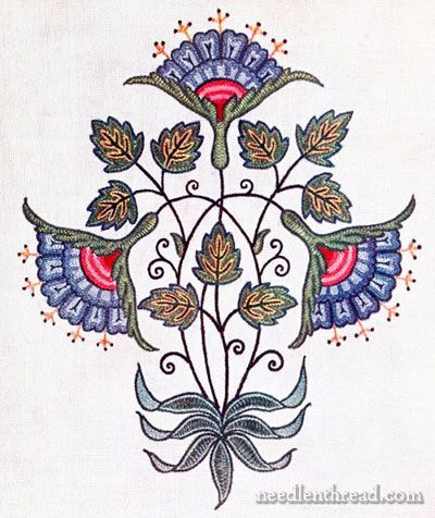 Embroidery by Mrs. Archibald Christie