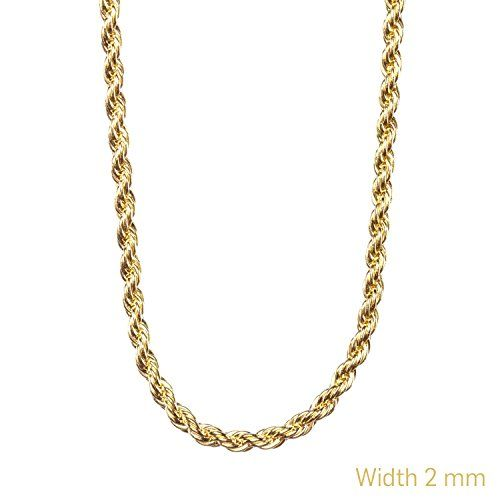 Gold Chain Necklace 24K Overlay 2MM USA Made, LIFETIME WA... http://smile.amazon.com/dp/B013Z7EEYW/ref=cm_sw_r_pi_dp_vCfoxb0XECD8F