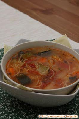 Nóri mindenmentes konyhája: Minestrone leves