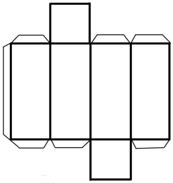 Resultado de imagen para prisma cuadrangular