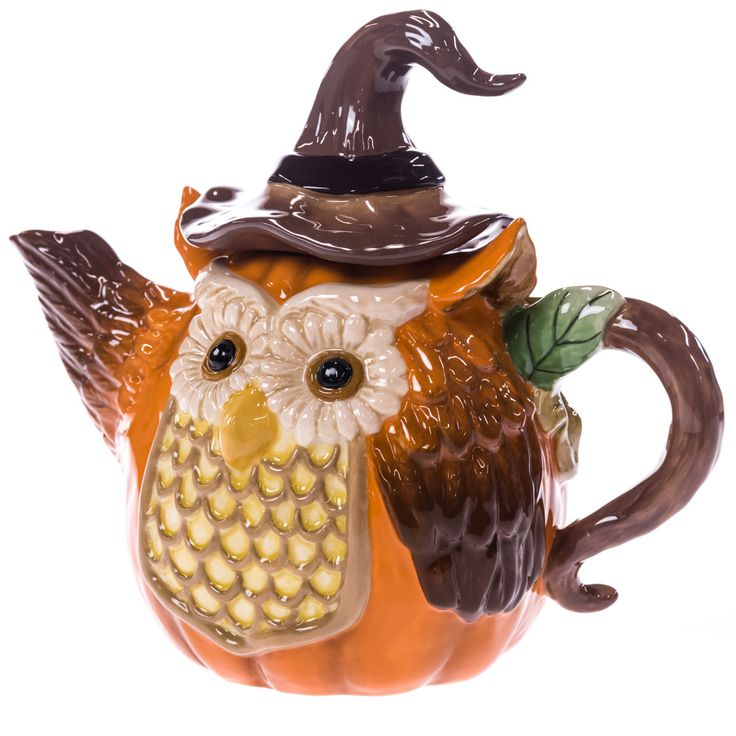 582 best teapots animal bird images on pinterest tea for Owl fish store