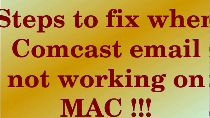 Comcast Email Not Working on Mac 844-711-1008 Toll Free Phone Number