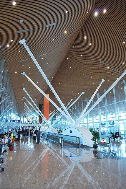 Kuala Lumpur International Airport, aka KLIA