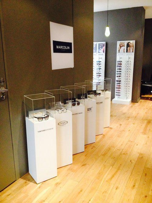 Show room Marcolin, lunettes de luxe - Sept 2014