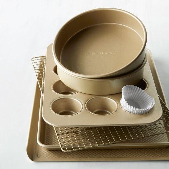 Goldtouch Nonstick 6 Piece Essentials Bakeware Set Bakeware