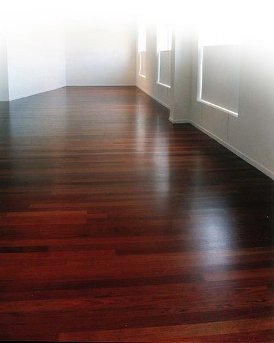 Brazilian Cherry hardwood floors:                                                                                                                                                      More