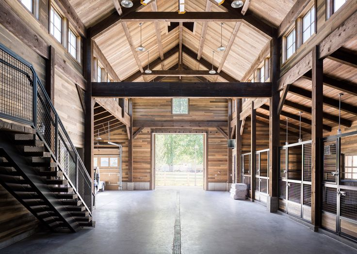 US firm Lloyd Architects has completed a new barn in Utah for a family that has been farming the same land since the 1800s