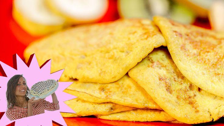 Come Preparare Pancake Light con 2 Soli Ingredienti. Senza lattosio, farina, burro e senza zucchero http://www.my-personaltrainer.it/Tv/Ricette/Dolci_Dessert...