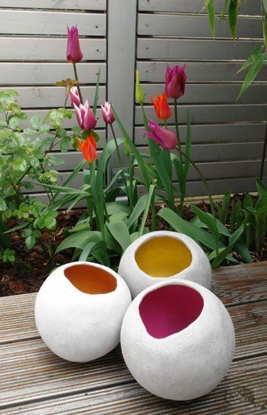 Frage an die Betonbastler: Terracottakugel mit Beton umhüllen? - Seite 1 - Deko & Kreatives - Mein schöner Garten online