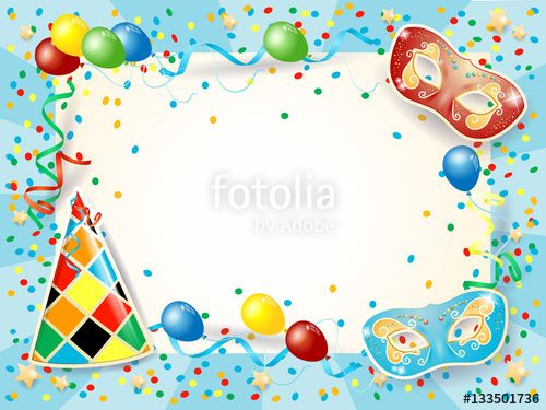 New! :) #party #carnival #birthday #mask #harlequin #vector #template https://us.fotolia.com/id/133501736