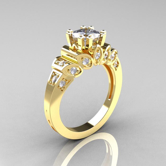 Cubic zirconia engagement rings design your own