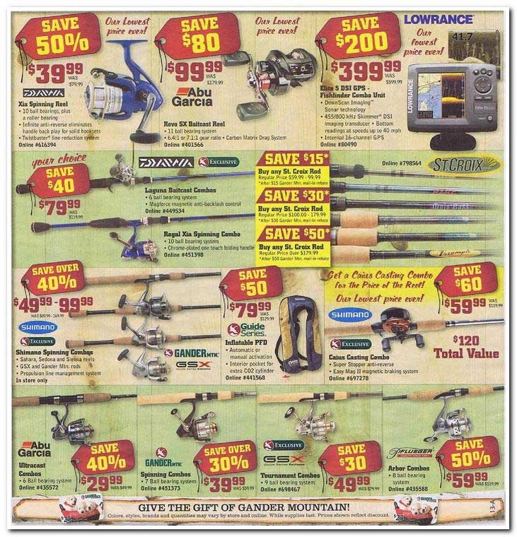 Gander mountain coupons in store 2018