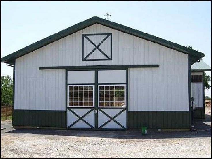this diy horse barn kit has slider doors on each end horse barns are very
