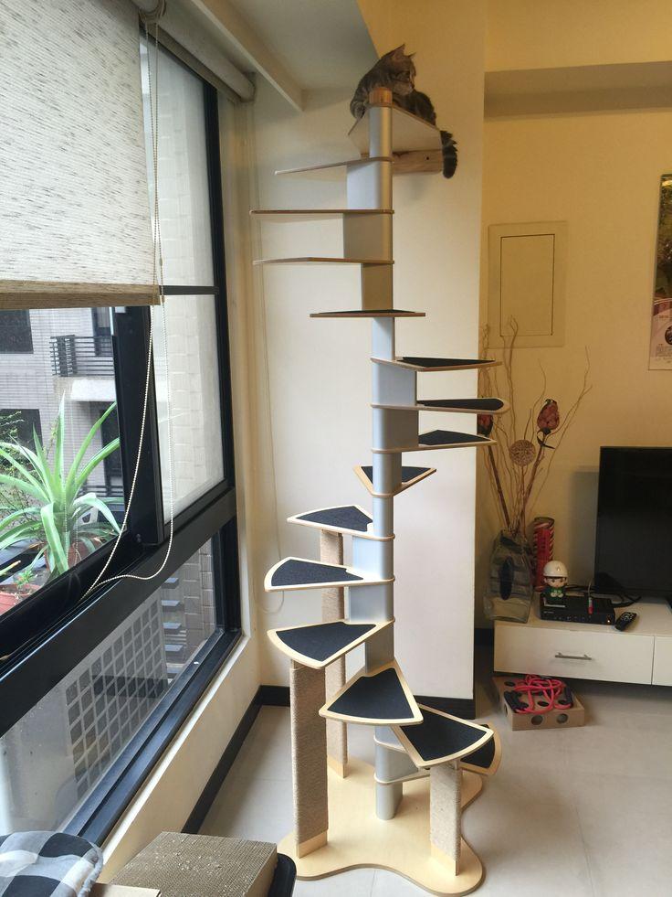 Best Cat Spiral Staircase Cat Furniture Görüntüler Ile 400 x 300
