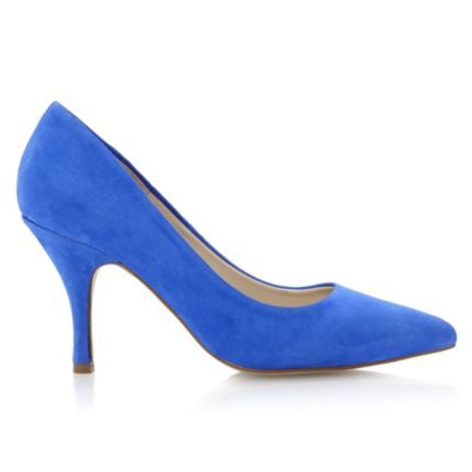 Your Something Blue? AVIATOR - Suede Pointed Tow Court Shoe by Dune online at Dune London #blue #court #shoes #dunelondon #dune #heels #somethingblue #wedding #bride #bridesmaid #style #fashion
