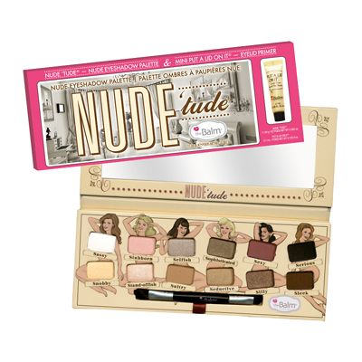 theBalm Nude 'Tude Eyeshadow Palette with FREE Put A Lid On It...Eyelid Primer 3.7ml #feeluniquemagpies