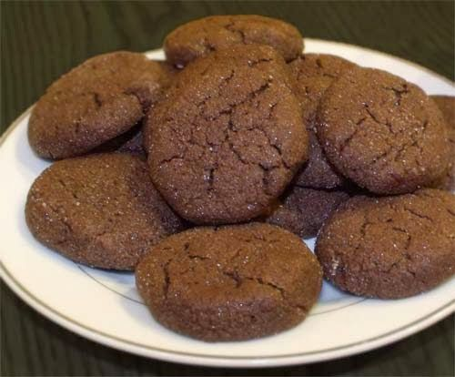 Chewy Chocolate Sugar Cookies Recipe