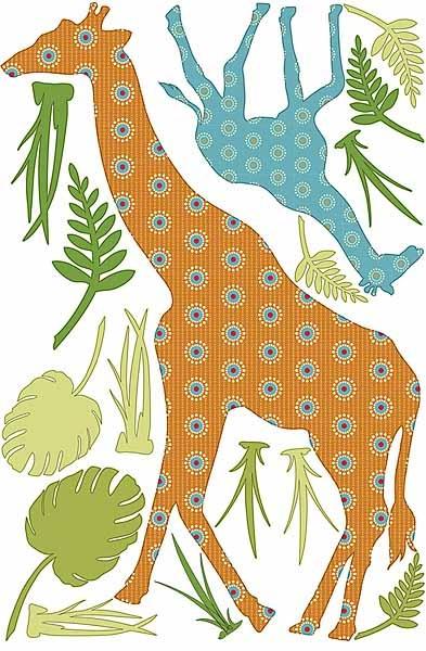 Zoo-Wallogy Riley the Giraffe - Peel & Stick 23.99: Giraffes Wall, Wall Art, Brewster Wpz93890, Giraffes Decals, Wpz93890 Wall, Wall Decals, Pop Riley, Wall Pop, Nurseries Ideas