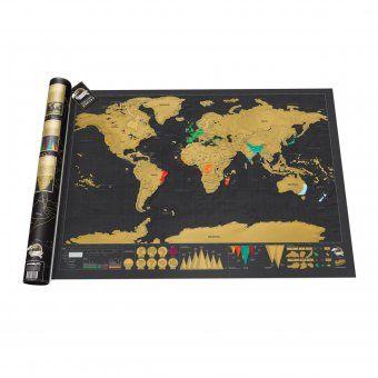 Weltkarte Scratch Map Deluxe – große Landkarte von Luckies zum Freirubbeln der besuchten Reiseziele 35,95 €