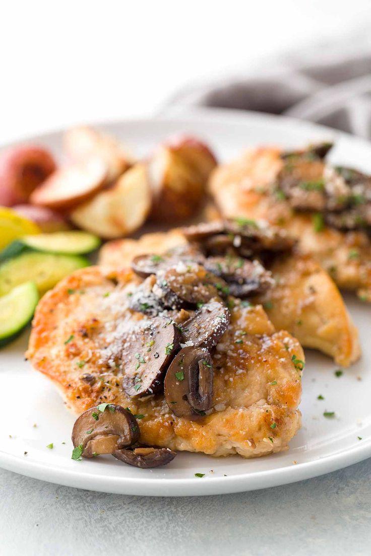 Easy Chicken Marsala Recipe with Mushrooms   Jessica Gavin