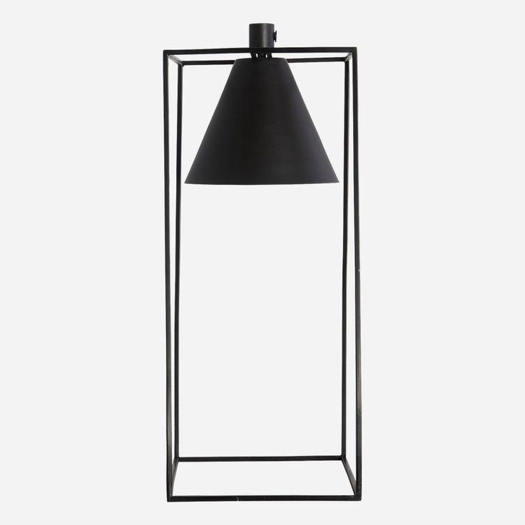 Kubix+Table+Lamp,+Black,+House+Doctor