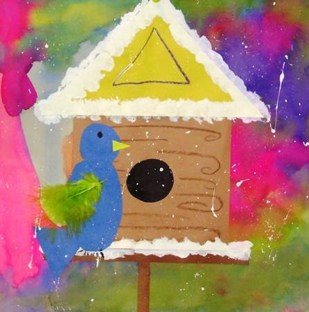"""From exhibit """"K - Winter Birdhouses"""" by McHenry1"""