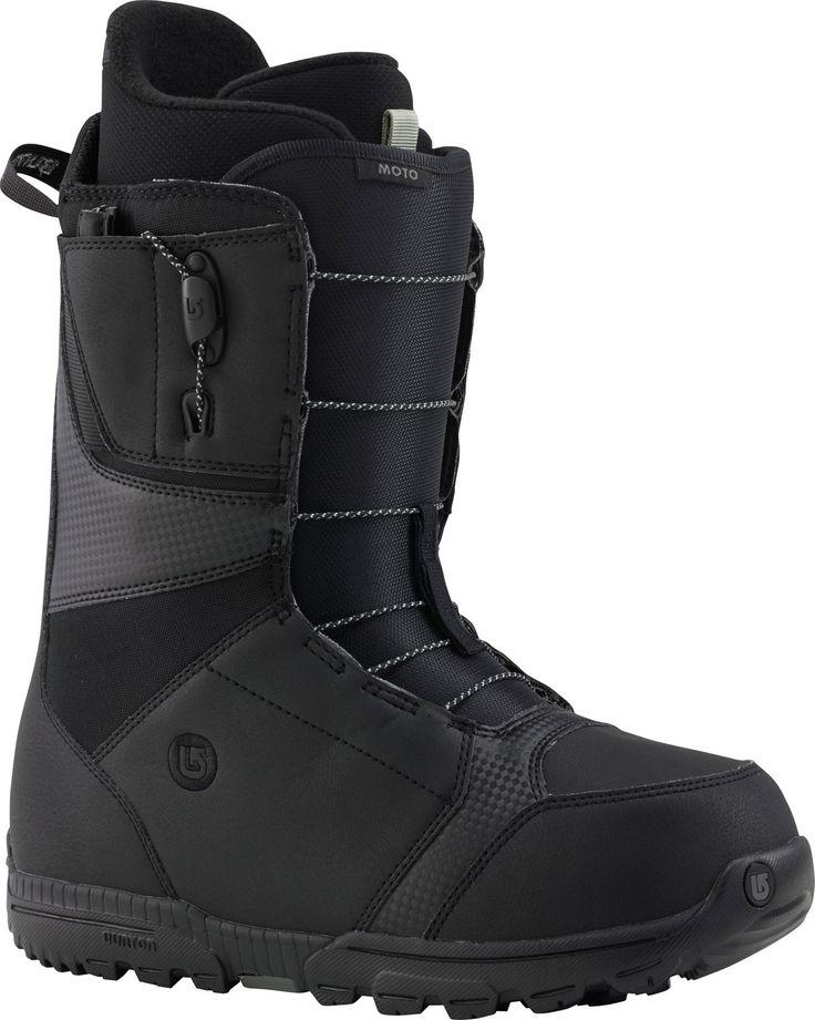 Burton Moto Snowboard Boots Black Mens