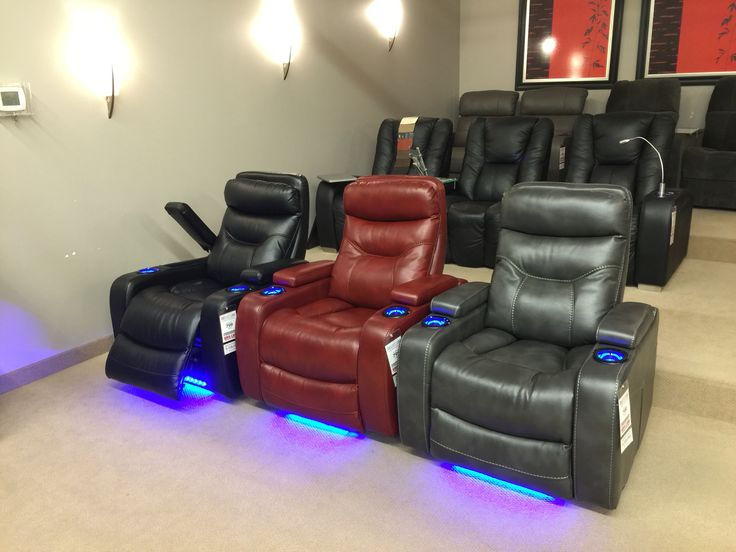 These home theater chairs just arrived. Power recliners with LED & 13 best Home Theater images on Pinterest | Home theaters Home ... islam-shia.org