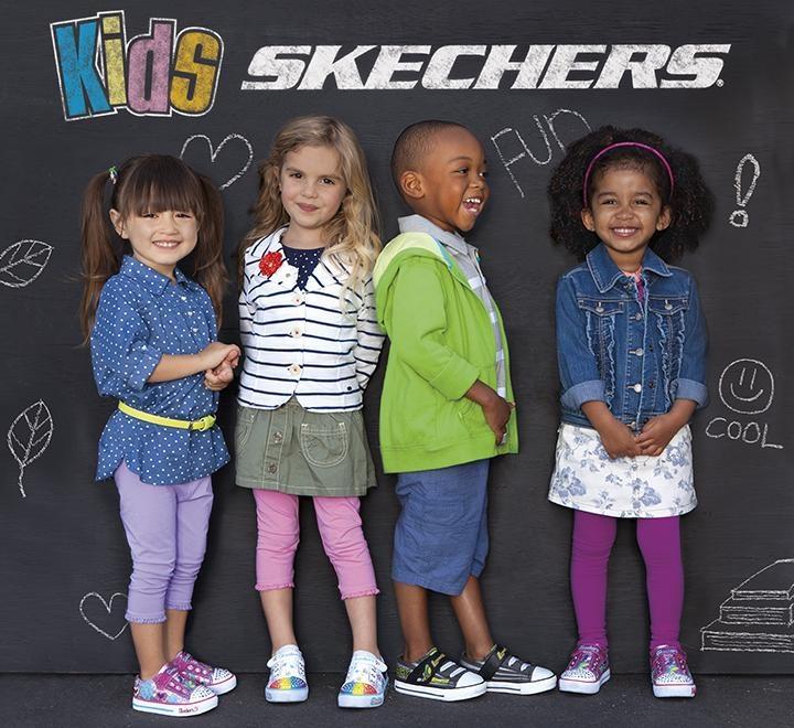 We love our SKECHERS Kids.