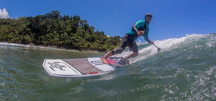 Mad box has been designed as a short SUP surf board that shreds. Mad box is very stable to paddle in and out of the waves and very reactive.Beginners or experts