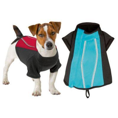 Karlie Aktif Köpek Elbisesi Mavi/Siyah 26 Cm  Karlie Active Köpek Elbisesi, nefes alan materyalden, rahat, kapalı fermuarlı, yansıtmalı şeritler, 30 derecede yıkanabilir.