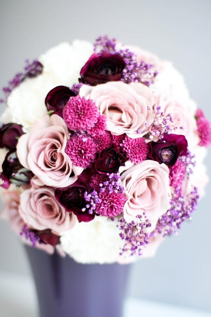 GLEDELIG bryllup: Marta og Vidar - Blomster