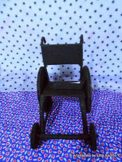 Cadeira de rodas em feltro Inclusão Social by Litta Santos http://littasantos.blogspot.com.br/