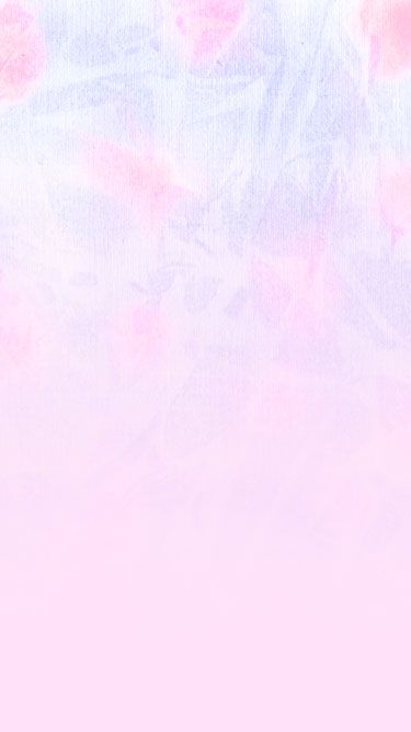Pastel pink lilac floral fade out ombre iphone phone