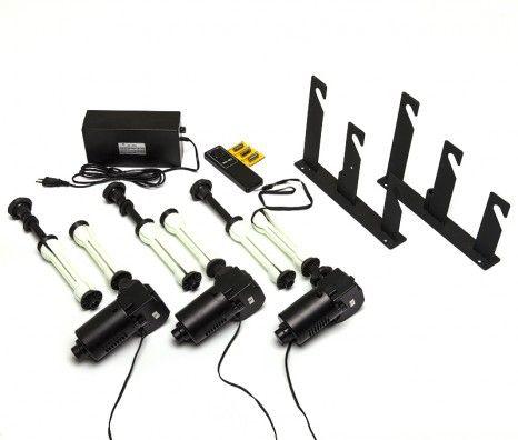 3 Roller Motorised Background Support System