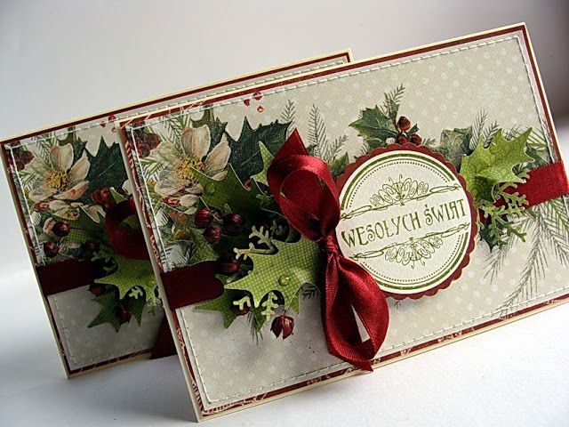 Dorota_mk - Great idea to use up all that pretty Christmas paper I have :D