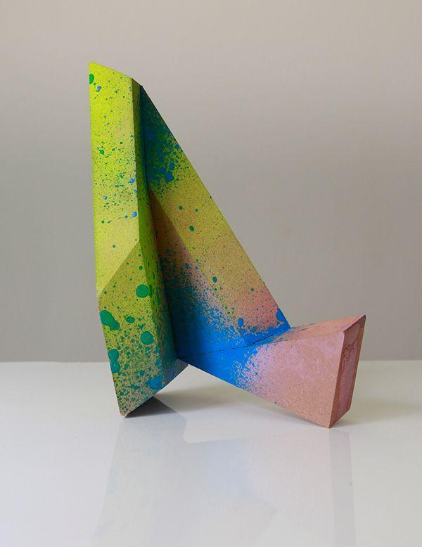 Unique piece, exploration project for Panel Plus, cutting research and color experimentation