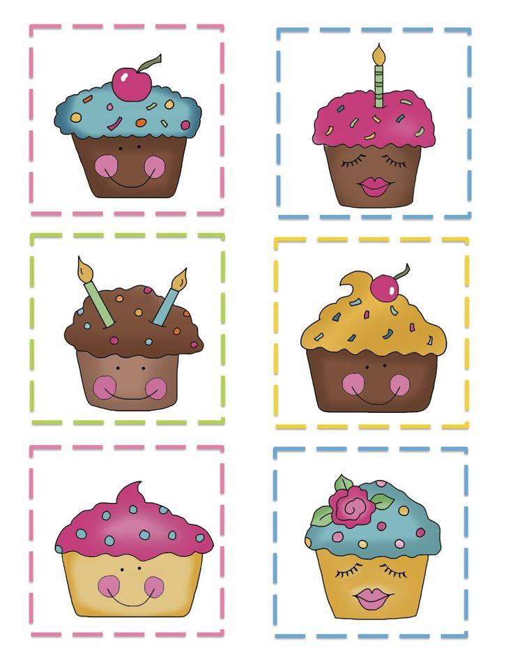 Images à mettre de côté pour les anniversaires - Preschool Printables