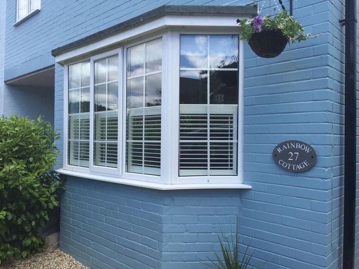 22 Best Bay Window Shutters Images On Pinterest Indoor