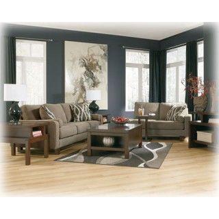 Treylan   Smoke   Living Room Group | 89400   Group | Living Room Groups |