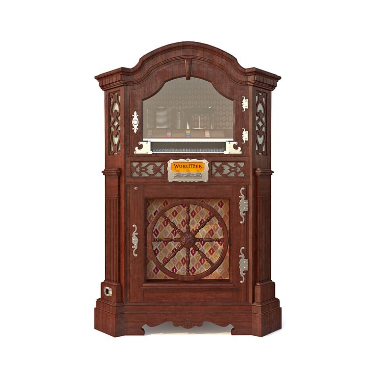 3D Max wurlitzer780 Wurlitzer музыкальный автомат