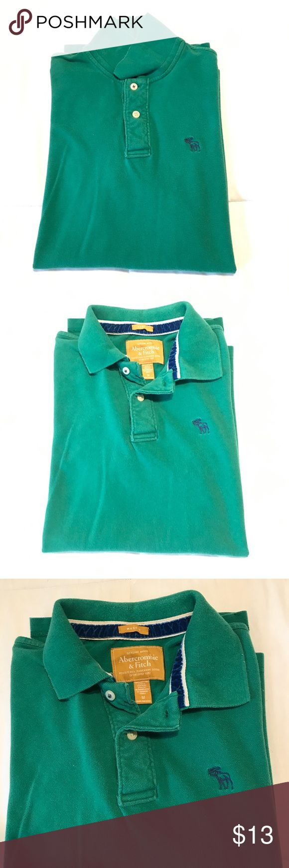 Abercrombie and Fitch men's muscle polo shirt. Abercrombie and Fitch men's muscle polo shirt. Used. Size M. Need to be wash before wear! Abercrombie & Fitch Shirts Polos