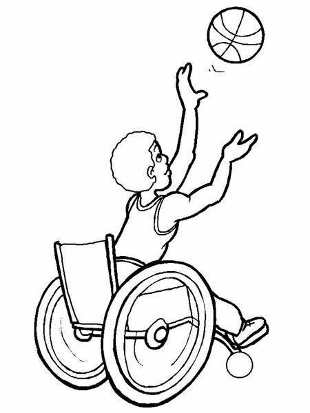 Engelliler Haftası Boyama Sayfaları Engelliler Pinterest