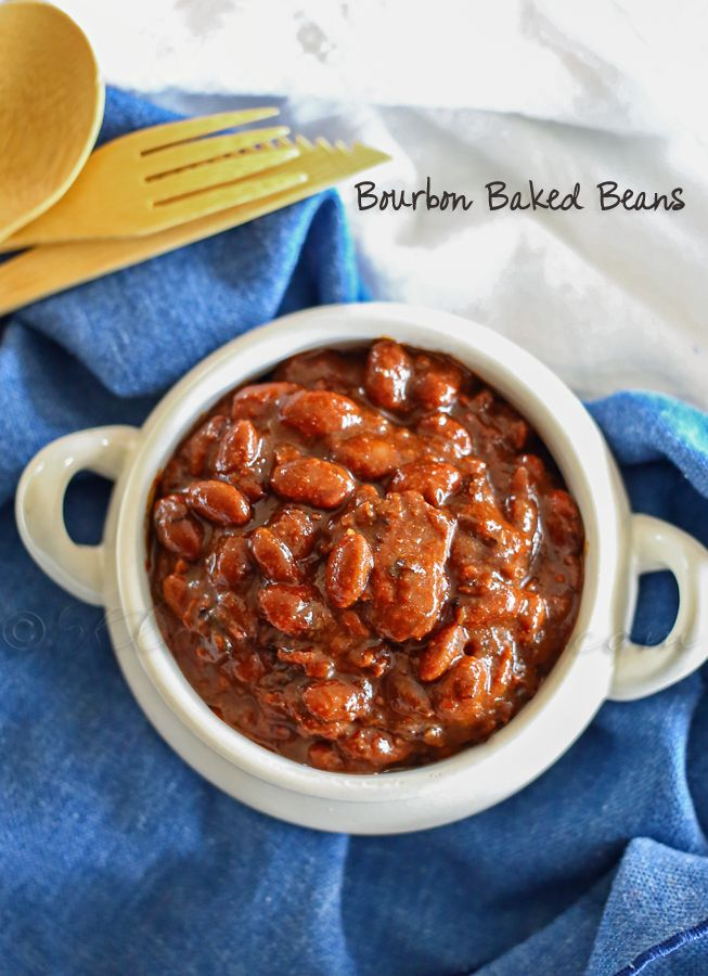 Bourbon Baked Beans - it's easier than you think to make your own. These are a huge hit at every bbq!!  @kleinworthco.com