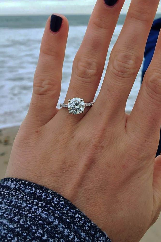 30 Amazing Simple Engagement Rings Simple Engagement Rings
