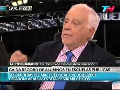El diario de Nelson - Alieto Guadagni (La situacion de la Educacion Argentina) - 30-10-2014 - YouTube