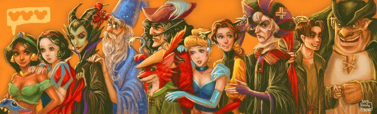 Disney+Line+DA+Muro+by+emilynguyenart.deviantart.com+on+@deviantART