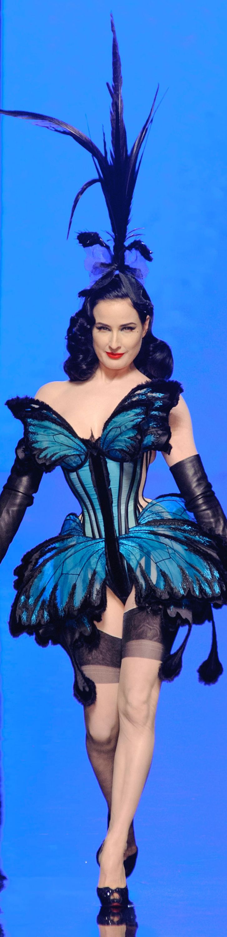 """Jean Paul Gaultier Haute Couture Spring 2014…….ALL I HAVE TO SAY IS…..""""YOU GOTTA BE KIDDING !!!""""…………..ccp"""
