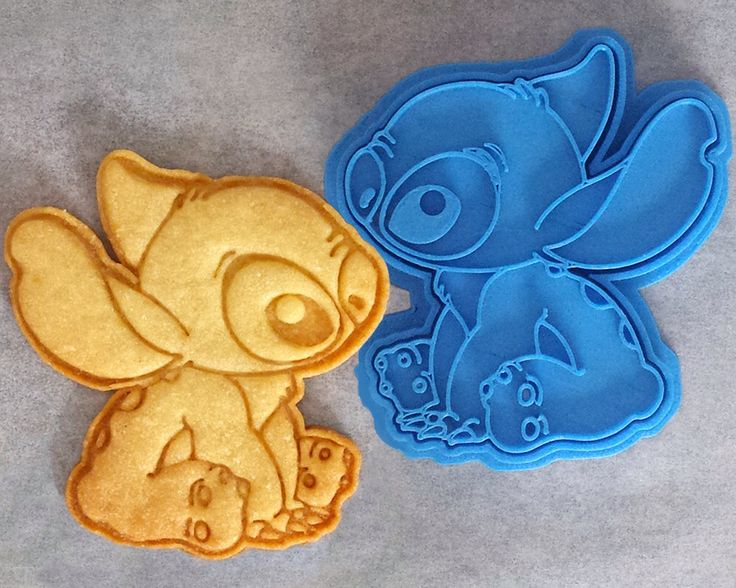 Disney Stitch Cookie Cutter by CrimsonManeCreations on Etsy https://www.etsy.com/listing/241006637/disney-stitch-cookie-cutter