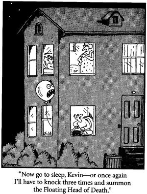 gary larson floating head of death - Google Search ...